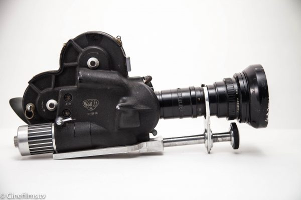Vintage motion picture camera