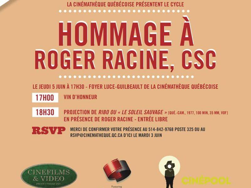Soirée Hommage à Roger Racine, CSC